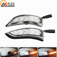 цена на LED DRL Flowing Side Rear-view Mirror Dynamic Turn Signal Light Lamp For Toyota Vios Altis Yaris Corolla Camry Accessories