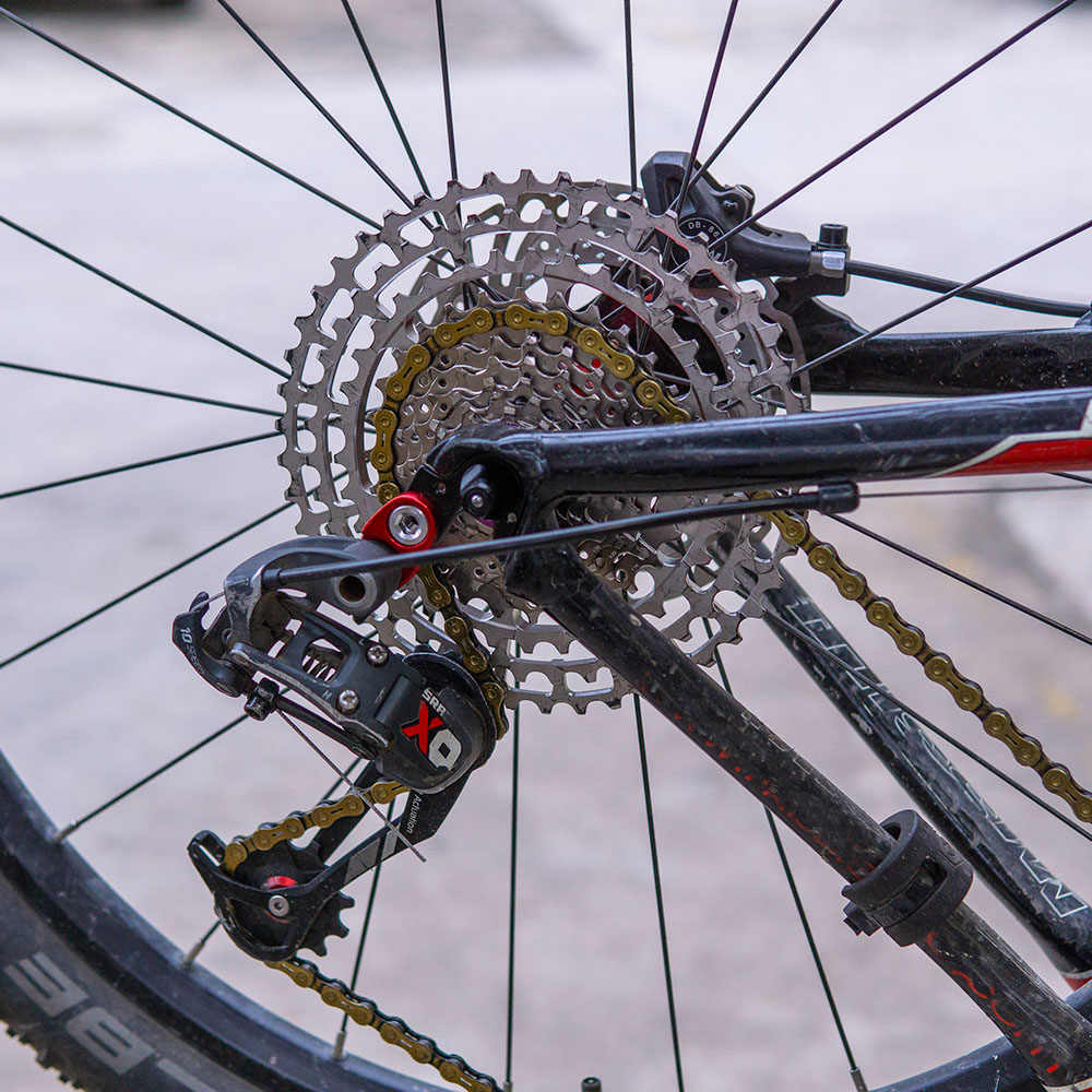 Кассета de bicicleta ZTT SLR 2, de 10 velocidades, 11-46T, совместимый с con HG, 10 s, ultraliviano, 46T, CNC, 10 v, k7 para MTB X