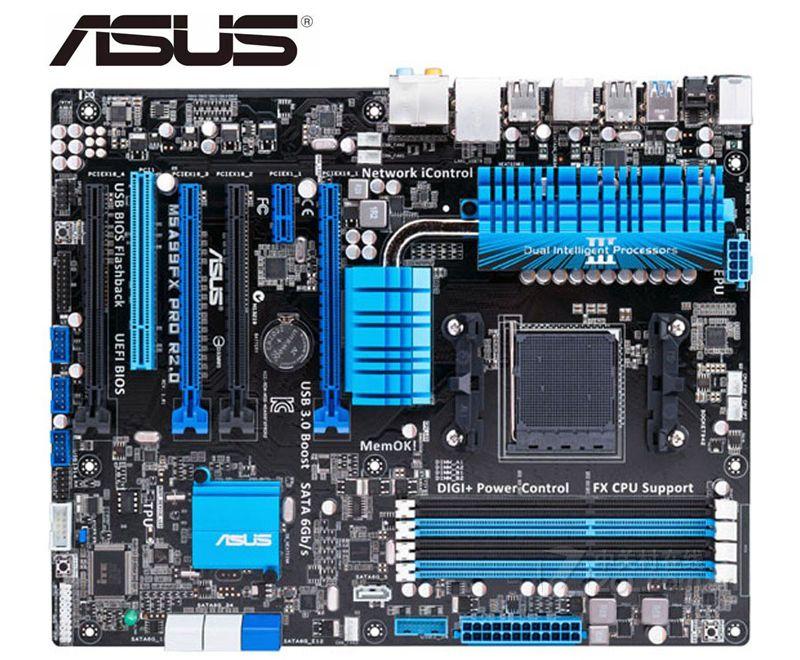 ASUS  M5A99FX PRO R2.0 Original Motherboard For AMD Socket AM3+ DDR3 SATA III USB2.0 USB3.0 32GB USED Desktop Motherboard