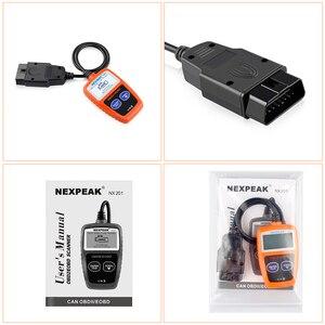 Image 5 - NX201 OBD2 Scanner Code Reader Car MS309 Auto Diagnostic Tool OBD 2 Car  Diagnostic Engine Code Reader Better Then ELM327 OBD