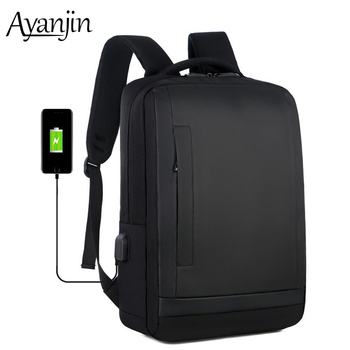 Дорожный рюкзак с двойной застежкой-молнией и зарядкой через usb, сумка для ноутбука lenovo Macbook air pro 13 14 15 15,6 дюймов, чехол для мужчин, сумки для н...