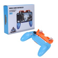 BESTMobile Game Controller Metalen Trigger Knop Handvat voor PUBG Gamepad Joystick(China)