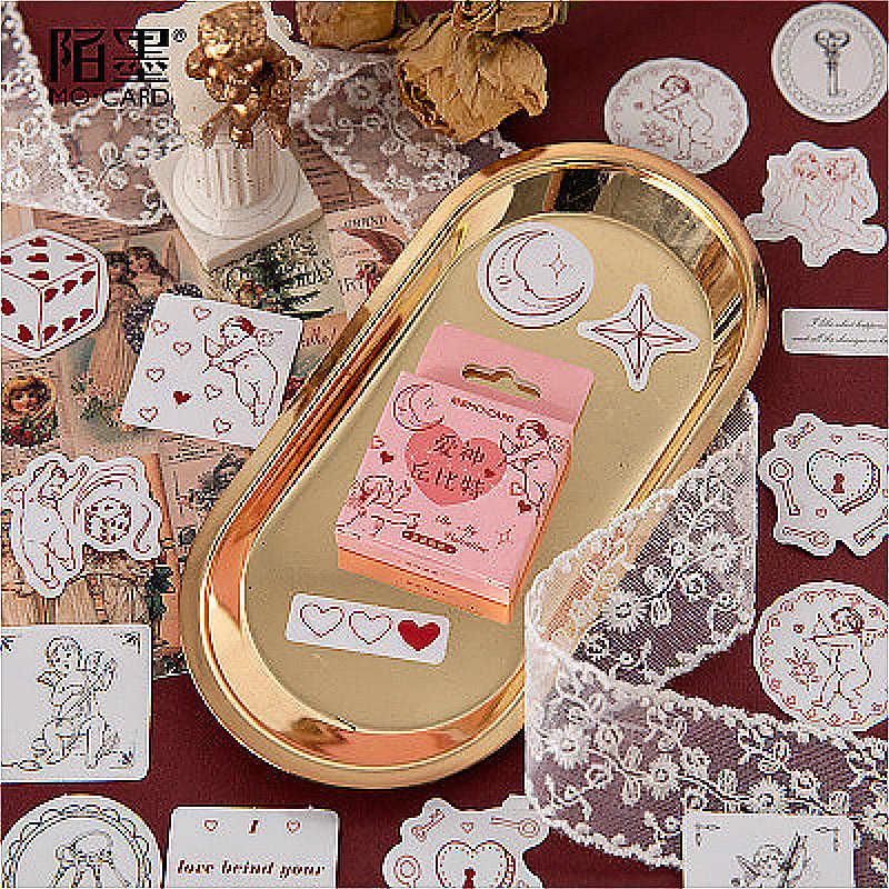 1 pacote brilho cupido deus do amor papelaria adesivo papel decoração scrapbooking adesivo kawaii papelaria presente material escol