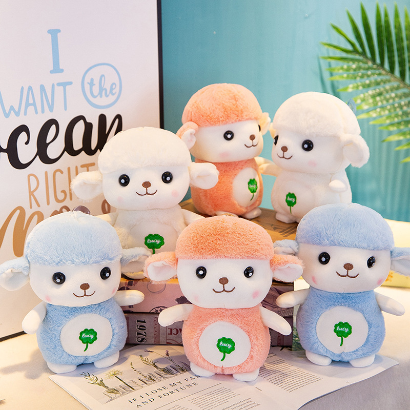 25cm kawaii wool velvet toy plush animal child comfort doll birthday Christmas gift image