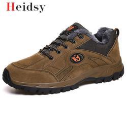 Marca de inverno sapatos masculinos tamanho grande 38-49 botas masculinas super quentes tênis tornozelo quente pelúcia antiderrapante botas de neve para homem calçado