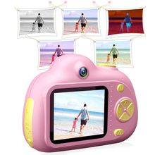 Kids Camera Toys Gifts For 4~8 Years Old Girls Shockproof Toddler Camera& Camcorder With Soft Silicone Shell For Outdoor Play