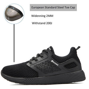 Image 2 - SUADEEX Unisex Men Women Safety Shoes Steel Toe Puncture Proof Work Shoes Lightweight Outdoor Breathable Construction Boots Men
