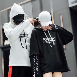 Image 4 - 2019 summer style hip hop men sweatshirts streetwear hoodies long sleeve pullover outwear ABZ364
