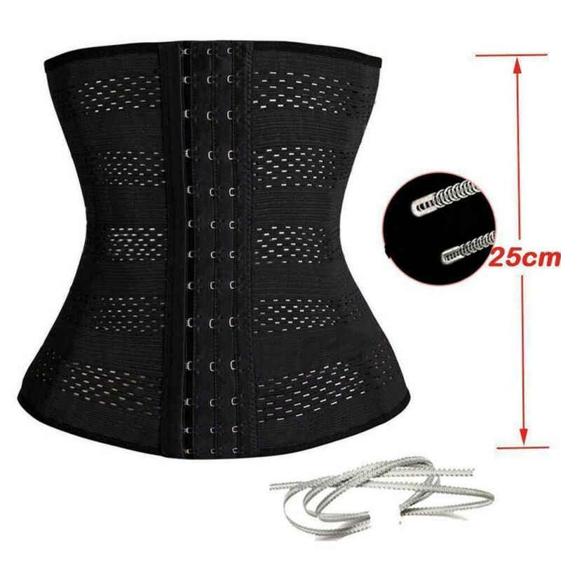 Corsé de mujer moldeador de cintura moldeador Underbust sólido firme con 3 Breasted mantener el cuerpo delgado