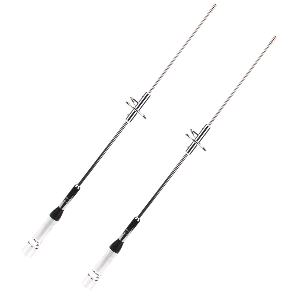 2 Pcs Antenna NL-770S-PL259 UHF/VHF Dual Band 144-430MHz For Car Kenwood Radios Walkie Talkie Antenna
