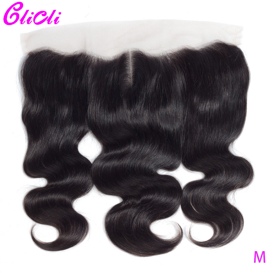 13x4 Ear To Ear Lace Frontal Closure Body Wave Remy Human Hair Brazilian Bleached Knots With Baby Hair 130 Density