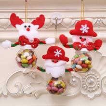 Christmas Decorations Mini Candy Box Merry Christmas Tree Decorations Ornaments Santa Claus Kids Favors Christmas Gifts Navidad цена