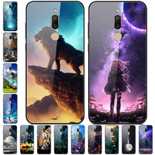 5 7 #8221 For Meizu M6T Case Tempered Glass Hard Back Cover For Meizu M6T Case M6 T Cover Soft Bumper for Meizu M 6T M811H Cases cheap 7 QIWEI Fitted Case Tempered Glass mirror case Quotes Messages Plain Animal Floral Dirt-resistant High quality AAAAA in stock For Meizu M6T