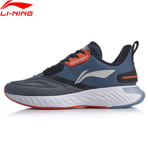 Image 5 - Li Ning Men LN CLOUD V SHIELD Cushion Running Shoes WATERSHELL LiNing Waterproof Sport Shoes Sneakers ARHP143 SOND19