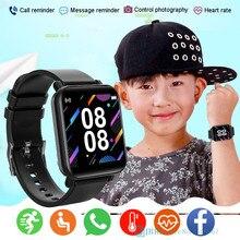 Новинка 2021, Детские Смарт-часы для девочек и мальчиков, спортивные Смарт-часы с пульсометром, Смарт-часы с Bluetooth, Смарт-часы для 10-18