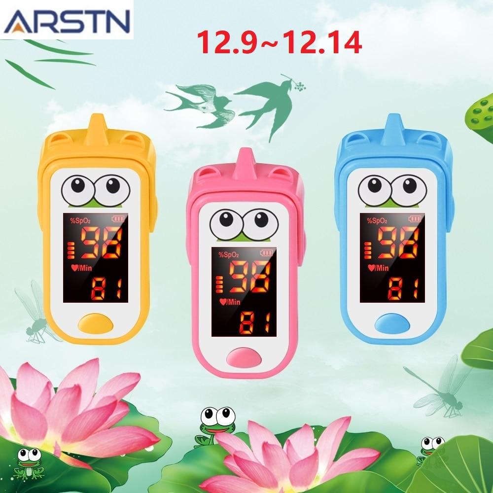 Baby Finger Pulse Oximeter Pediatric Oximetro De Dedo SpO2 PR LED Neonatal Children Kids Fingertip Pulsioximetro CE Handheld
