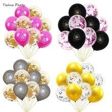 Twins Party 10Pcs Eid Al Adha Confetti EID MUBARAK Balloons Islamic Muslim Decorations New Year Clear