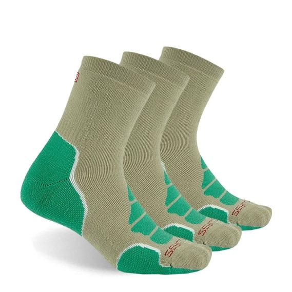 Носки из мериносовой шерсти, ZEALWOOD Athletic cushit Crew hiking & походные носки, 1/3 пар