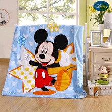 Disney Minnie Mickey Cartoon Toddler Baby Summer Quilt Kindergarten Holiday Blanket Girls Boys Crib Bed  Decoration Gift