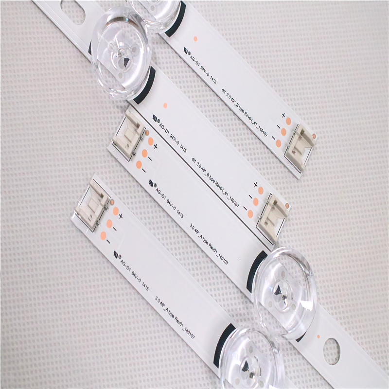 New 10 PCS/set LED Backlgith Strip Replacement For LG 49LB5500 LC490DUE Innotek DRT 3.0 49 A B 6916L-1788A 1789A 1944A 1945A