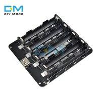 2X 4X 18650 Batteria Al Litio Modulo Scheda di Espansione Shield V8 V9 Potere Mobile 5V/3A 3V/1A Micro USB per Arduino ESP32