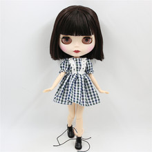 Factory Neo Blythe Doll Short & Long Brown Hair Jointed Body 30cm