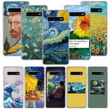 Aesthetic Van Gogh Case for Samsung Galaxy A50 A70