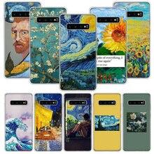 Aesthetic Van Gogh Case for Samsung Galaxy A50
