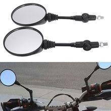 Складные зеркала заднего вида для мотоцикла 2 шт 8/10 мм