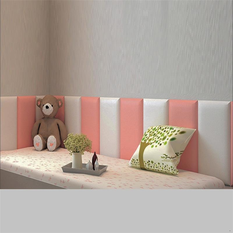 Coussin Chambre A Coucher Enfant Headboard Cushion Kid 3D Wall Sticker Bed Tete Lit Cabecero Cama De Pared Cabeceira Head Board