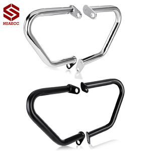 Engine Guard Bumper Crash Bar Buffer Frame Side Protector for Triumph Bonneville T100 T120 Bobber Thruxton 1200 Street Cup/Twin
