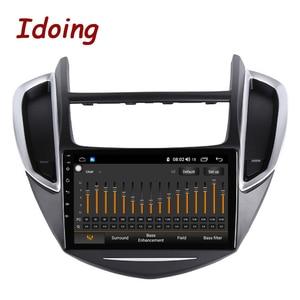 "Image 3 - Idoing 9 ""4G + 64G 2.5D IPS Octa Core Android auto Radio Multimedia Player GPS para CHEVROLET TRAX 2014 2016 DSP de navegación GPS"