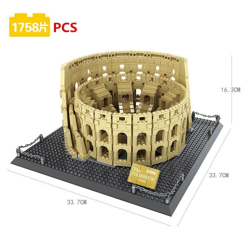 nova arquitetura amphitheatrum flavium colosseo blocos de 01