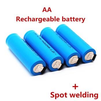 Oryginalny akumulator AA 1 2V 2600mah AA NiMH bateria z pinami lutowniczymi dla majsterkowiczów elektryczne szczoteczki do zębów zabawki tanie i dobre opinie Jungla Ni-mh KAA2600 Baterie Tylko 2-20PCS Pakiet 1