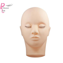NEW  Professional 1 set Training Mannequin head for Eyelash Extension Makeup Tools