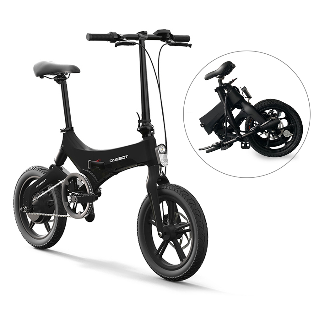 16Inch Folding Electric Bicycle Power Assist Moped Electric Bike E-Bike 250W Motor Dual Disc Brake Foldable bicicletta elettrica