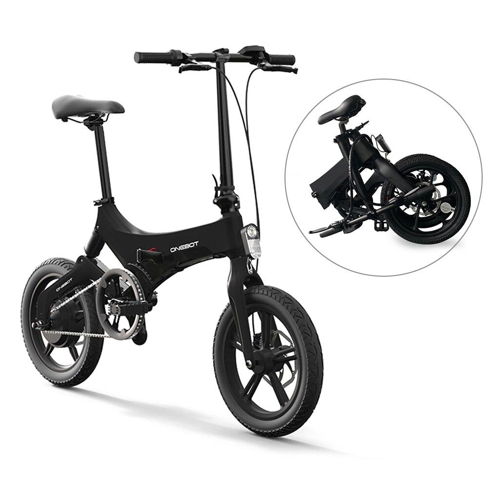 16Inch Folding Electric Bicycle Power Assist Moped Electric Bike E-Bike 250W Motor Dual Disc Brake Foldable bicicletta elettrica