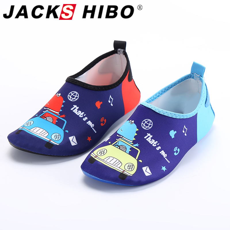 JACKSHIBO Quick Drying Kids Water Shoes Anti-slip Barefoot Shoes For Children Swimming Shoes Sneakers Outdoor Beach Aqua Shoes