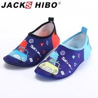 Jackshibo secagem rápida crianças sapatos de água anti deslizamento sapatos descalços para crianças sapatos de natação tênis de praia ao ar livre do aqua| |   -