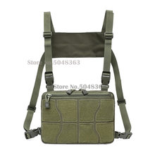 Military Tactical Chest Rig Bag Men Adjustable Fanny Pack Multi-Functional Molle Tool Pouch Shoulder Bag Tactical Vest Bag(China)