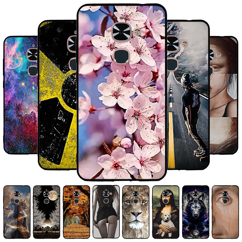 Soft Case For LETV LeEco Le 2 Pro Cases For LeEco letv S3 x622 X626 X20 X25 Le 2 X620 X621 X526 X527 Cartoon Painted Covers