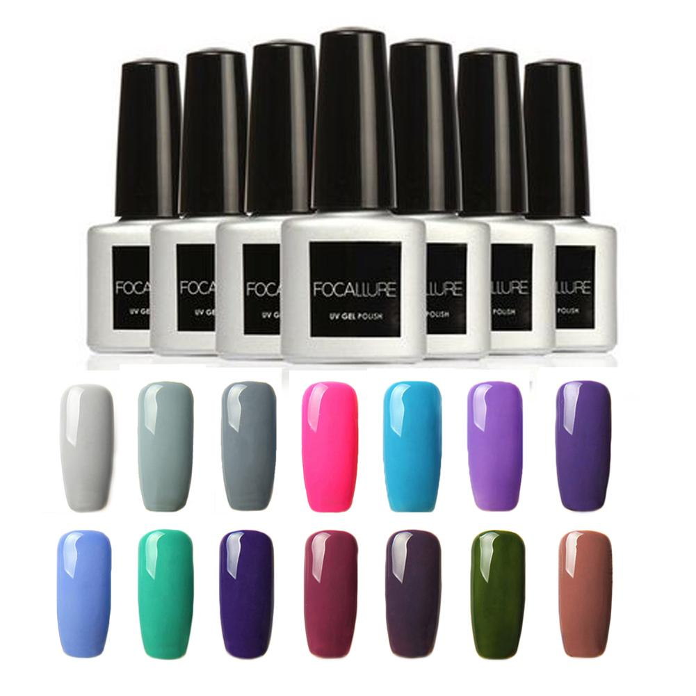Long Lasting Fashion Lamp Manicure Color Women Beauty Soak-off Gel Nail Polish