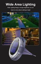 Waterproof Solar Outdoor Underground Lights Lawn Lights Garden Waterproof Lamp 8 LED Stair Lighting Wall Lamp Path Lights cheap oobest CN(Origin) IP65 Brushed Nickel LED Bulbs 110V 5000 Hours