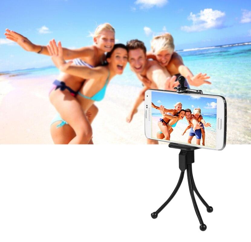 Mini Hose Tripod Stand Bracket for Camera or Projector Display Selfie Stick Mobile Phone Tripod Gorillapod Digital Camera Tripod