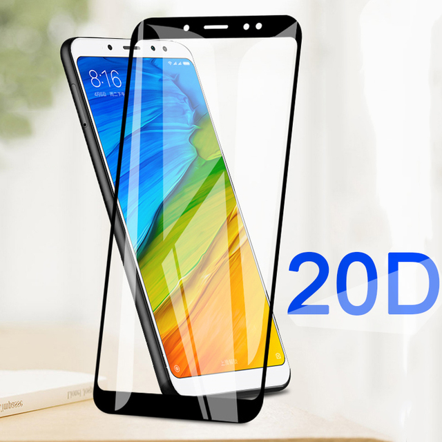 20D tempered glass for Xiaomi Redmi Note 5 Pro protective glass on Xiomi Redmi 5A redmi5 Plus Note 5A Prime 9H screen protector