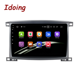 """Image 2 - Idoing 9""""/10.2 inch Octa Core Car Android 9.0 Radio Multimedia Player For Toyota Land Cruiser LC 100 2002 2007 GPS Navigation"""