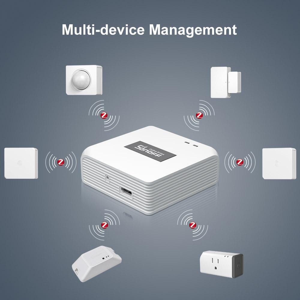 SONOFF Zigbee Bridge /Wireless Switch / Temperature And Humidity Sensor/Motion Sensor /Wireless Door Window Sensor Zigbee 3.0 6