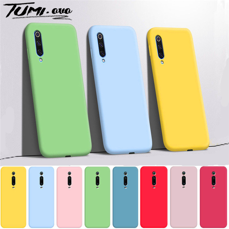 Candy Soft Case For Xiaomi Note 10 Pro Mi A3 Lite Silicone TPU Cases For Redmi Note 9S 8T 8 7 9 Pro Max 10X 8A 7A K20 K30 Cover(China)