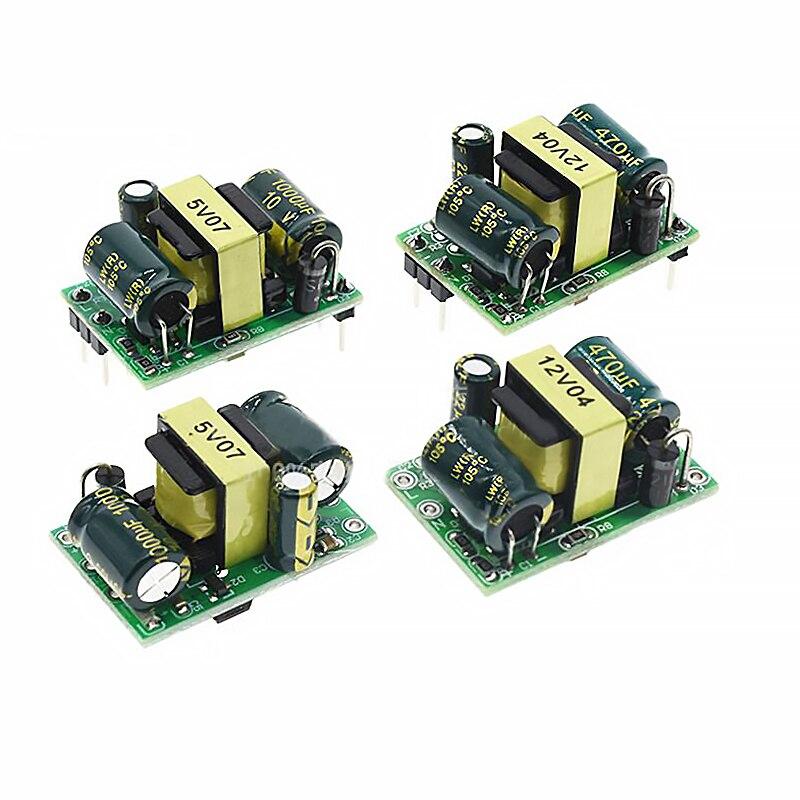 Изолированный модуль питания переключателя 5 В, 3,5 мА (220 Вт), 12 В, мА, 5 Вт, для Arduino AC-DC, понижающий модуль в, поворот 5 В
