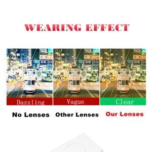 Image 5 - Очки ночного видения для мужчин и женщин, поляризационные антибликовые линзы, желтые солнцезащитные очки для вождения, ночное видение